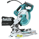 Makita XSL05Z 18V LXT Lithium-Ion Brushless 6-1/2 in. Compact Dual-Bevel Compound Miter Saw with Laser