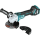 Makita XAG17ZU 18V LXT Lithium-Ion Brushless Cordless 4-1/2 in. or 5 in. Cut-Off/Angle Grinder with Electric Brake and AWS (Tool Only)