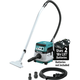 Makita XCV08Z 18V X2 LXT Lithium-Ion (36V) Brushless Cordless 2.1 Gallon HEPA Filter Dry Dust Extractor/Vacuum with AWS, Tool Only