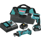 Makita XT255T 18V LXT 5.0 Ah Lithium-Ion Cordless 2-Pc. Combo Kit