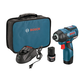 Factory Reconditioned Bosch PS42-02-RT 12V MAX 2.0 Ah Cordless Lithium-Ion EC Brushless 1/4 in. Hex Impact Driver Kit