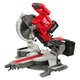Factory Reconditioned Milwaukee 2734-81HD M18 FUEL 9.0 Ah Cordless Lithium-Ion 10 in. Dual Bevel Sliding Compound Miter Saw
