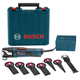Factory Reconditioned Bosch GOP55-36C1-RT 5.5 Amp StarlockMax Oscillating Multi-Tool Kit with 8-Piece Accessory Kit