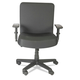 Alera AAPCP210 Xl Series Big & Tall Mid-Back Task Chair, Black