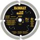 Dewalt DWA3193PCD 7 1/4 in. Fiber Cement 4T PCD Blade