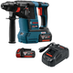 Factory Reconditioned Bosch GBH18V-26K-RT 18V 6.0 Ah EC Cordless Lithium-Ion Brushless 1 in. SDS-Plus Bulldog Rotary Hammer Kit