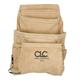 CLC I923X Custom LeatherCraft Suede Carpenter's Nail and Tool Bag (10 Pocket)