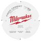 Milwaukee 48-40-7000 7-1/4 in. PCD/Fiber Cement Circular Saw Blade