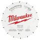Milwaukee 48-40-0522 5-3/8 in. 16T Framing Circular Saw Blade