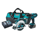Factory Reconditioned Makita XT250-R 18V LXT Cordless Lithium-Ion 1/2 in. Hammer Drill and Circular Saw Kit