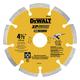 Dewalt DW4740 4-1/2 in. x .250 in. Extended Performance Segmented Blade