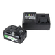 Hitachi UC18YSL3S Compact 18V 3.0Ah Lithium Ion Battery (2 Pack) and Charger Combo Kit