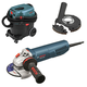 Bosch GWS10-45P-OSHA 10 Amp 4-1/2 in. Angle Grinder with Paddle Switch and Dust Collection System
