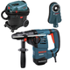 Bosch RH328VC-OSHA 120V 1-1/8 in. SDS-plus Rotary Hammer with Dust Collection System