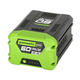 Factory Reconditioned Greenworks 2908302-RC Pro 60V 2.5AH Lithium-Ion Battery-reconditioned