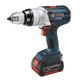 Bosch HDH181-01 18V Cordless Lithium-Ion Brute Tough 1/2 in. Hammer Drill Driver with 2 Fat Pack HC Batteries