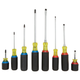 Dewalt DWHT66409 8 Piece Vinyl Grip Screwdriver Set
