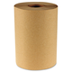 Boardwalk BWK6252 Hardwound Paper Towels, 8-in X 350ft, 1-Ply Natural, 12 Rolls/carton