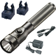 Streamlight 683-75713 Stinger LED Rechargeable Flashlight with 2 Holders (Black)