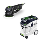 Festool P48571810 Rotex 6 in. Multi-Mode Sander with CT 48 E 12.7 Gallon HEPA Dust Extractor