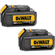 Dewalt DCB200-2 20V MAX 3.0 Ah Lithium-Ion Battery (2-Pack)