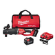 Factory Reconditioned Milwaukee 2711-82HD M18 FUEL 9.0 Ah Cordless Lithium-Ion Quik-Lok Super Hawg Right Angle Drill Kit