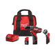 Milwaukee 2408-22P M12 3/8 in. Hammer Drill/Driver with Free LED Work Light and Bit Set