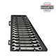 Milwaukee 48-22-9516 15pc Ratcheting Combination Wrench Set - Metric