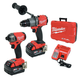 Milwaukee 2999-22 M18 FUEL 2-Tool Hammer Drill & SURGE Hydraulic Driver Combo Kit