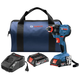 Bosch GDX18V-1600B22 18V 1/4 In. and 1/2 In. Two-In-One Socket-Ready Impact Driver Kit