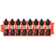 Bosch CCSPH2108 8-Piece Impact Tough Phillips P2 1 in. Insert Bits with Clip for Custom Case System