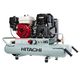 Factory Reconditioned Hitachi EC2610E Portable 8 Gallon Gas Powered Wheelbarrow Air Compressor
