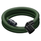 Festool 201665 27 mm x 3 m Tapered Braided Sleeve Antistatic Hose for CT SYS