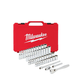 Milwaukee 48-22-9004 1/4 in. Drive 50pc Ratchet & Socket Set (SAE & Metric)