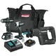 Factory Reconditioned Makita CX300RB-R 18V LXT Lithium-Ion Sub-Compact Brushless Cordless 3-Pc. Combo Kit