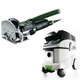Festool P36574432 Domino Mortise and Tenon Joiner Set with CT 36 E 9.5 Gallon HEPA Mobile Dust Extractor