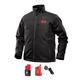 Milwaukee 202B-21M M12 Heated ToughShell Jacket Kit with Battery (Medium/Black)
