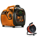 Generac 6866-6883BNDL Portable Inverter Generator with 50 ft. Power Cord Reel