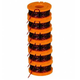Worx WA0010 Replacement Line Spool for WG150 151 165 166 GT Trimmers (6-Pack)