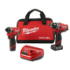 Factory Reconditioned Milwaukee 2598-82 M12 FUEL 2-Tool Combo Kit: 1/2 in. Hammer Drill and 1/4 in. Hex Impact Driver