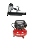 Factory Reconditioned Porter-Cable C2002R-FR350BR-BNDL 22 Degree 3-1/2 in. Full Round Head Framing Nailer with Air Compressor