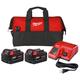 Milwaukee 48-59-1852P M18 REDLITHIUM 2-Pack XC5.0 Starter Kit