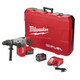 Factory Reconditioned Milwaukee 2717-82HD M18 FUEL 9.0 Ah Lithium-Ion 1-9/16 in. Rotary Hammer Kit with 2 Batteries
