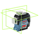 Factory Reconditioned Bosch GLL3-330CG-RT 360-Degrees Connected Green-Beam Three-Plane Leveling and Alignment-Line Laser