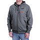 Milwaukee 302G-21S M12 Heated Hoodie Kit with Battery (Small/Gray)