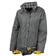 Dewalt DCHJ084CD1-2X 20V MAX Li-Ion Charcoal Women's Flannel Lined Diamond Quilted Heated Jacket Kit - 2XL