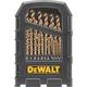 Dewalt DW1269 29-Piece Cobalt Pilot Point Drill Bit Set