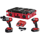 Milwaukee 2997-22CXPO M18 FUEL Hammer Drill and Impact Driver PACKOUT Kit