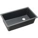 Elkay ELGU13322GY0 Quartz Classic 33 in. x 18-3/4 in. x 9-1/2 in., Single Bowl Undermount Sink (Dusk Gray)