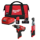 Milwaukee 255720-250320-48592424P M12 3/8 in. Ratchet and 1/2 in. Drill Driver with Free Starter Kit